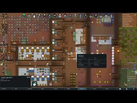 Rimworld - How to Manage ANIMAL FOOD Efficiently so they don't STARVE  & Die *2021"
