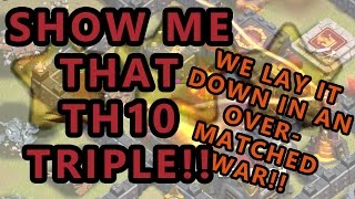 "Clash of Clans | TH10 Triples and Beating the ""PCB"" Base from Land and Air 