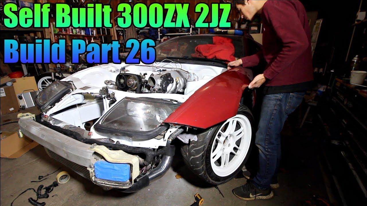 2JZ 300ZX Build Part 26 | Close to Completion