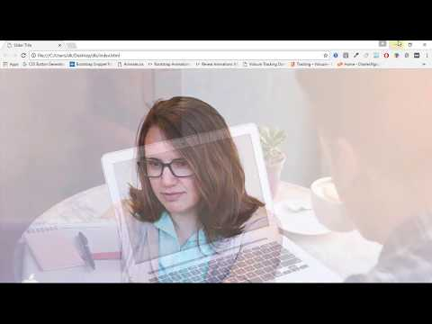 Full Page Slider - Complete Web Designing Tutorials in Hindi 23