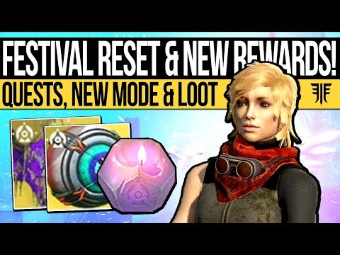 Destiny 2 | FESTIVAL RESET & HALLOWEEN LOOT! Exotic Quests, Weapons, Activity & Eververse (16th Oct)