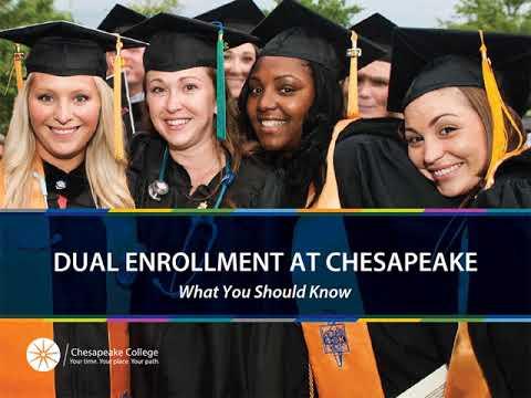 Dual Enrollment at Chesapeake College - Spring 2021