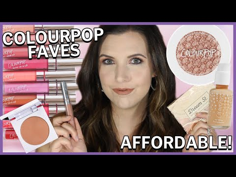 GLAM Transformation Using COLOURPOP FAVES thumbnail