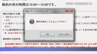 """ソニー """"Reader""""(リーダー) 3G接続サービスの解約手順"""