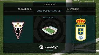 Albacete BP - R. Oviedo MD27 S1600