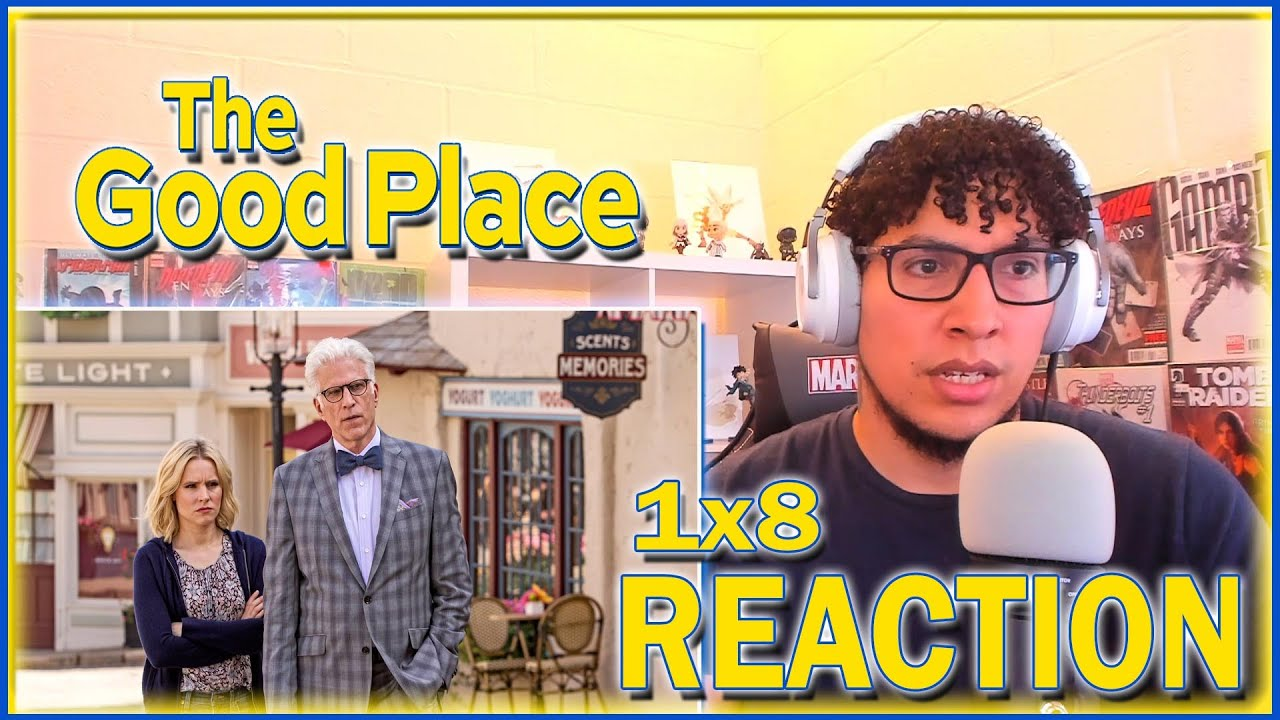 Download EVERY EPISODE ENDS WITH A BANG!   The Good Place 1x8 REACTION   Season 1 Episode 8
