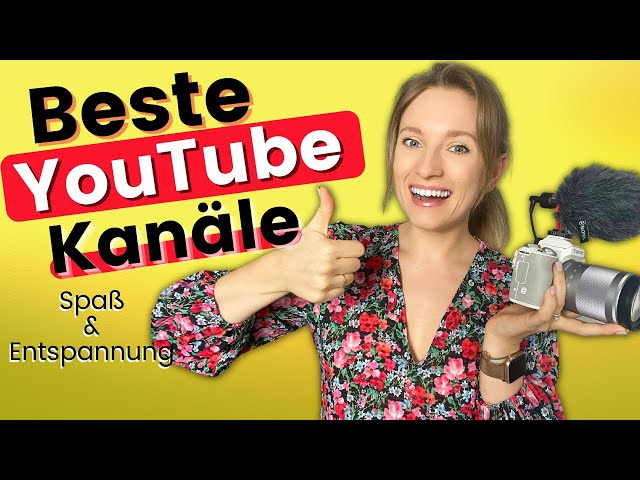 Die BESTEN YouTube - Kanäle für Spaß und Entspannug   Learn German Fast