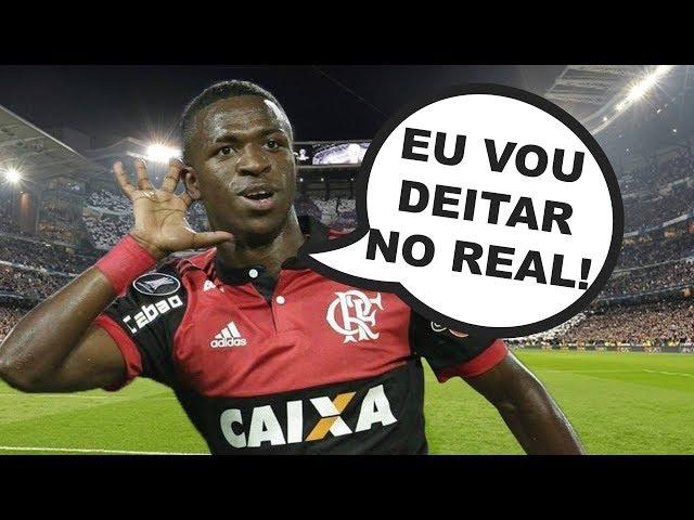 Esses lances do Vinicius Júnior IMPRESSIONARAM o REAL!