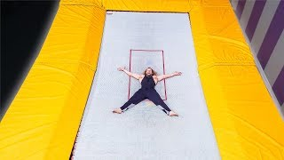 Scariest Trampoline I've Ever Been On