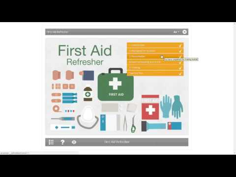 First Aid Refresher: An Introduction | Posturite Webinars