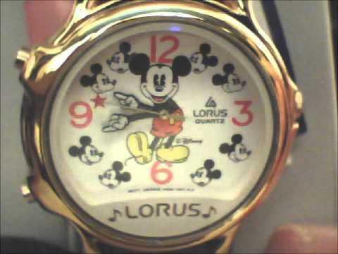 Mickey Mouse Lorus Melody Watch