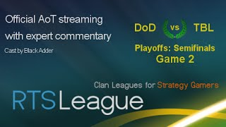 DoD vs. TBL, Game 2 - Age of Mythology: The Titans Clan League, Season 23 - Semifinals