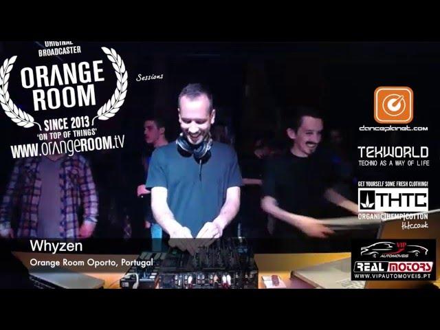 Orange Room Porto w/ Whyzen during a full Techno Night at Oporto, Episode 122, Part 4