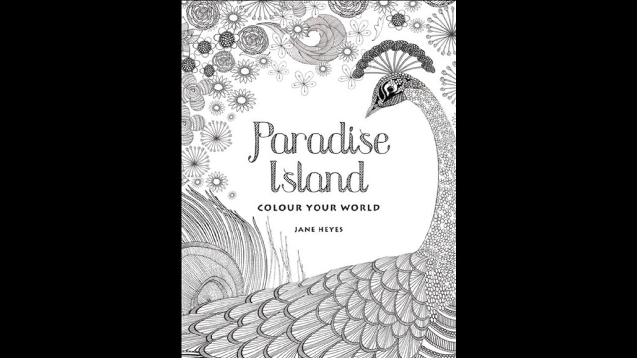 Artists Coloring Book Pepin : Flip through paradise island: color your world coloring book by