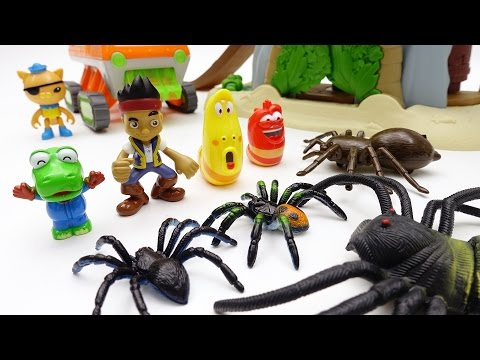 Thumbnail: Monster spider is approaching to Jake's pirate base Octonauts Barnacles, Kwazii Let's rescue friends