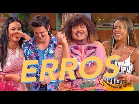 Vai Que Cola  ERROS de gravação e elenco cai na RISADA  Nova Temporada  Humor Multishow   1