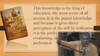 The Science of Bhagavad Gita - Class by HG Keshavananda Prabhu - 10/19/2018