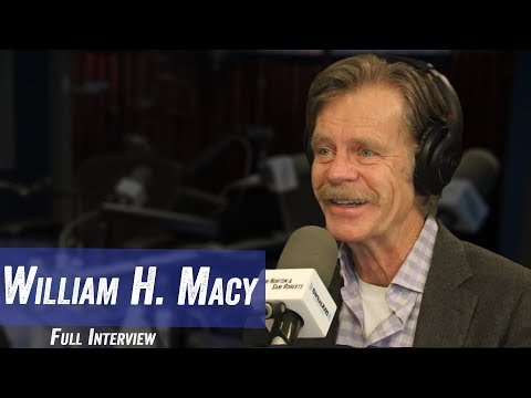 "William H Macy - ""Shameless"", Emmy Rossum Leaving, ""Fargo"" Series - Jim Norton & Sam Roberts"