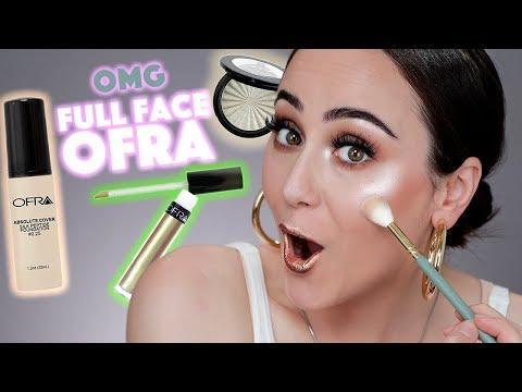 Full Face using only OFRA COSMETICS 😱 Ich schminke mich nur mit Ofra Makeup 🔥 Hatice Schmidt