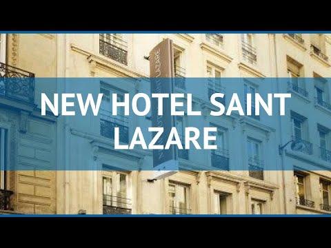 NEW HOTEL SAINT LAZARE 2* Франция Париж обзор – отель НЬЮ ХОТЕЛ САИНТ ЛАЗАРЕ 2* Париж видео обзор