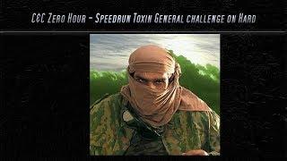 [C&C Zero Hour] Speedrun - Toxin Challenge on Hard Mode