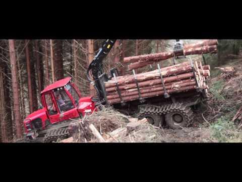 Clark Tracks Komatsu 875 FX and Grouzer