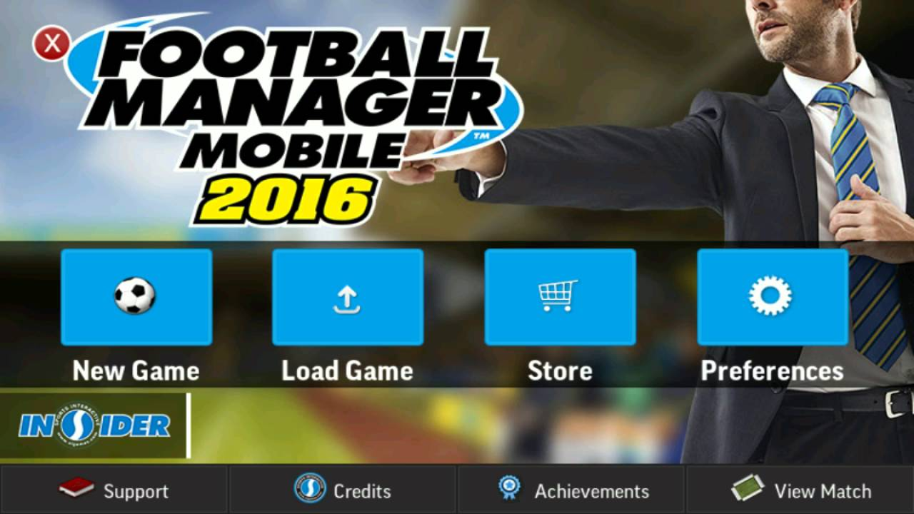 ⭐ Download football manager mobile 2018 apk data v9 0 3 android