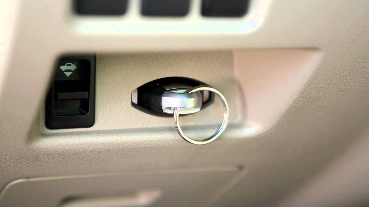 2012 Nissan Altima Push Button Ignition Youtube