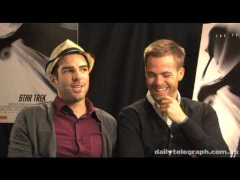 Interview with Chris Pine and Zachary Quinto for Daily Telegraph (05/2009)