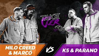 TakeOver II - Milo Creed & Marcö vs K5 & Parano