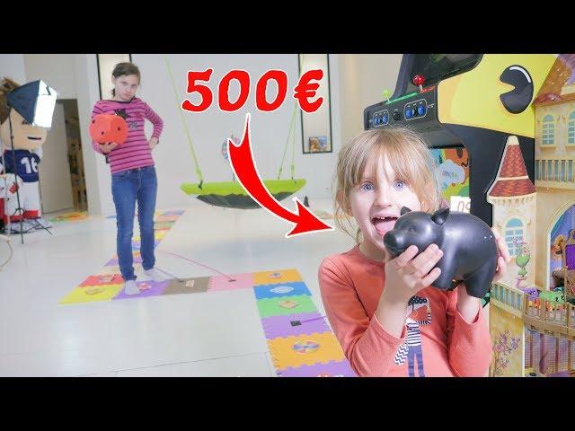 GÉANT JEU DE L'OIE CHALLENGE XXL • 500€ à gagner ! - GIANT BOARD GAME CHALLENGE!!!