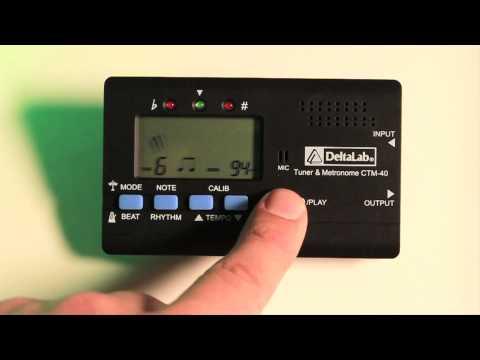 CTM-40 Chromatic Tuner / Metronome