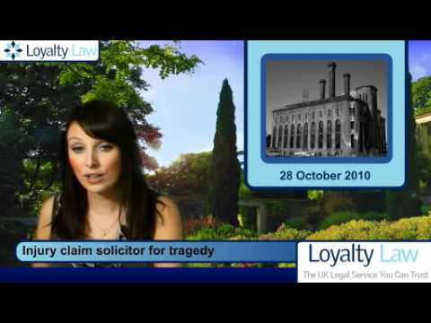 Injury claim solicitor for tragedy