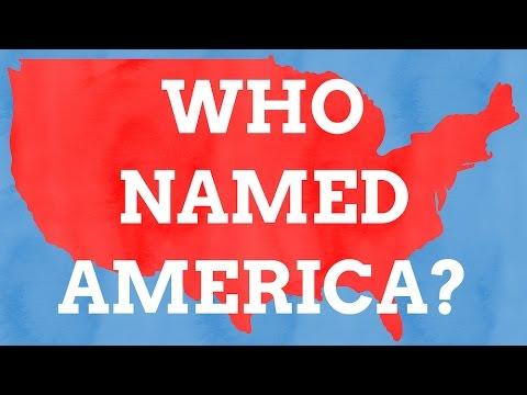 Who Named America?