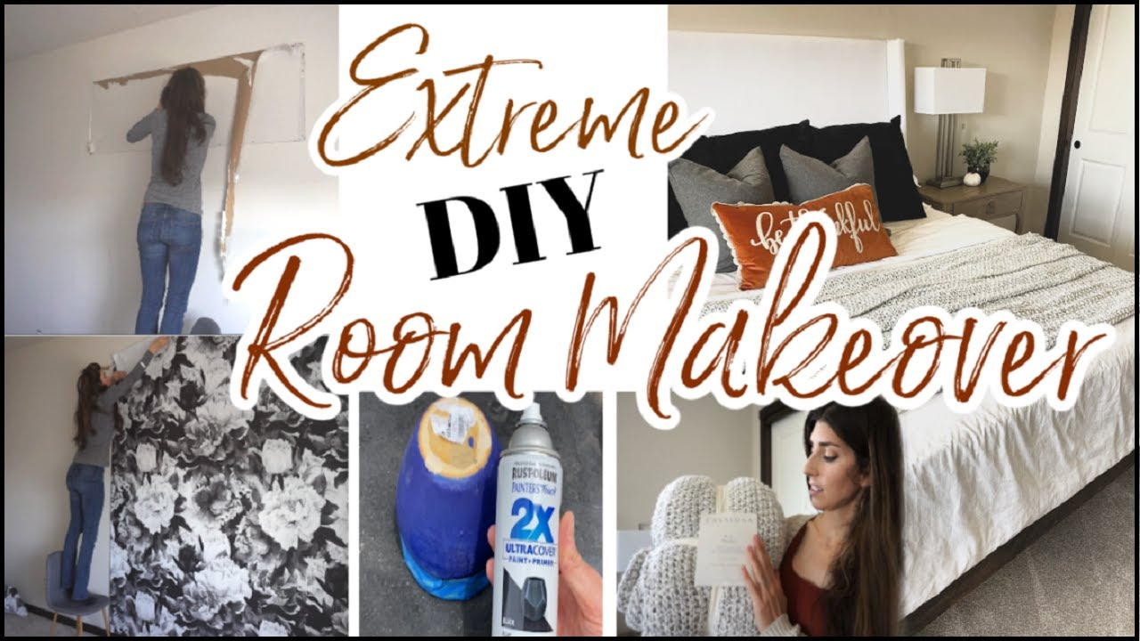 Extreme Bedroom Makeover | DIY, Fall Clean & Decorate With Me | Before & After
