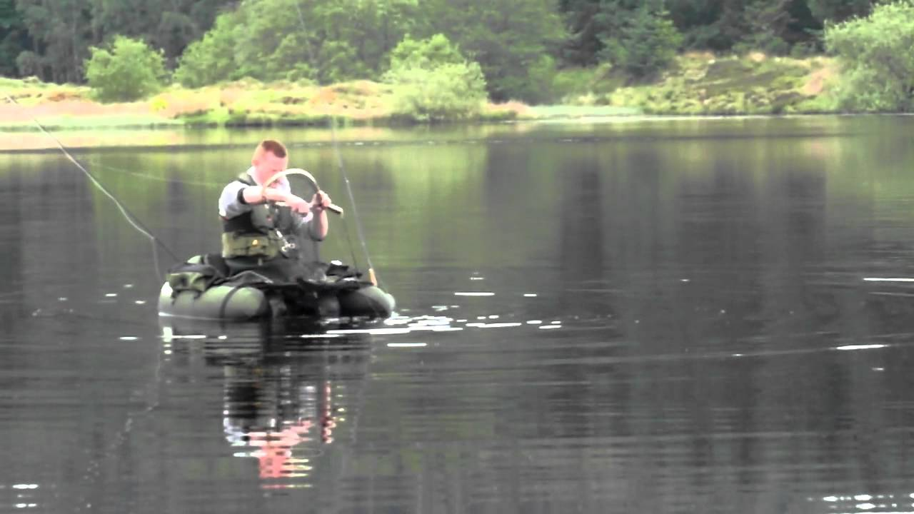 Snowbee float tube youtube for Fly fishing float tube