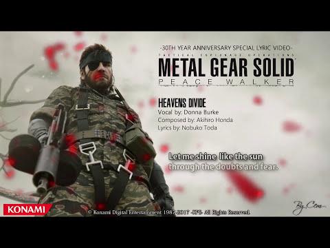 Metal Gear Solid : Peace Walker - ''Heavens Divide'' Lyrics [4K]