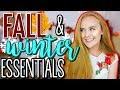 Fall/Winter Essentials + Favorites! | Beauty, Fashion, Skincare