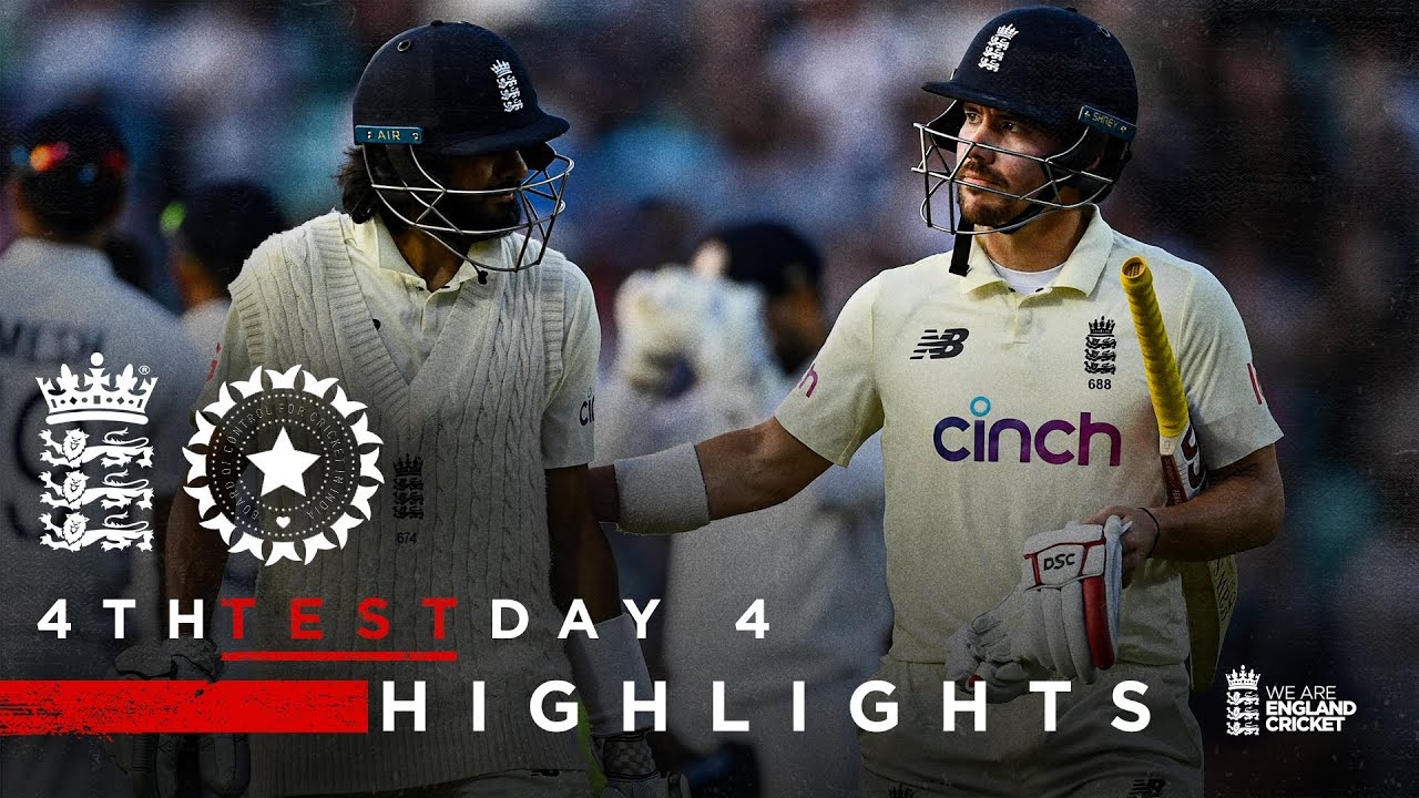 Download A Belter in Prospect For Day 5! | England v India - Day 4 Highlights | 4th LV= Insurance Test 2021