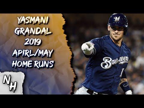 Yasmani Grandal 2019 April/May Home Runs