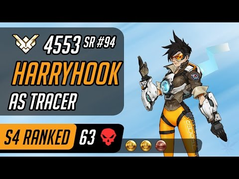Harryhook as Tracer and Soldier: 76 in Oasis [Season 4 - Grand master - 63 eliminations - 4553 SR]