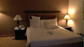 screen bed backgrounds hotel suite