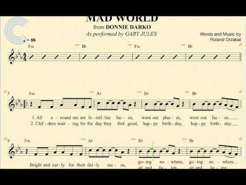 Mad World Sheet Music