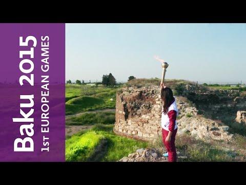 Shamkir, Journey of the Flame | Baku 2015