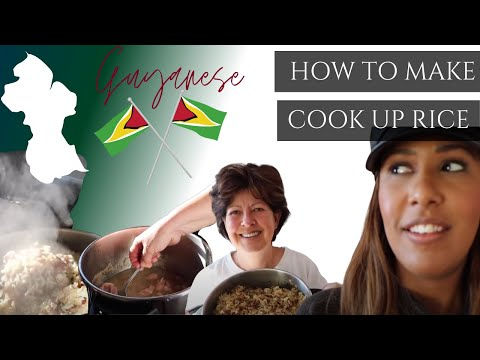 Making Guyanese Cook Up Rice With My Aunt | Nicole Fiona Serrao