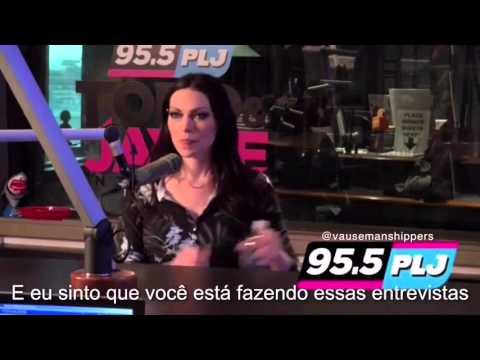 Laura Prepon Talking About Taylor Schilling on PJL Radio Legendado