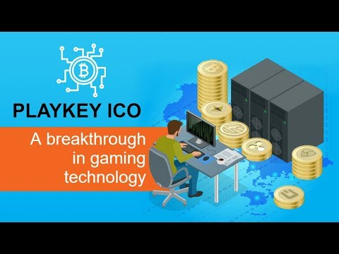 PLAYKEY ICO – A breakthrough in gaming technology