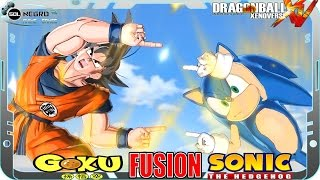 Goku and Sonic Fusion: Gonic or Soku? Dragon Ball VS Sonic the Hedgehog  Xenoverse mod