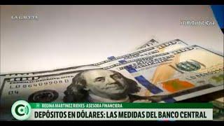 Depósitos en dólares: las medidas del Banco Central