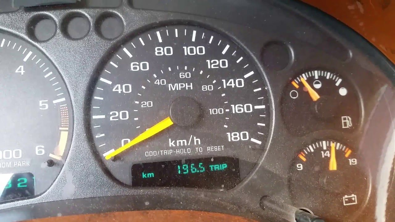 Chevy S10 Gas Gauge Problem